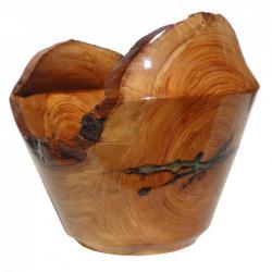 vase en bois de lierre