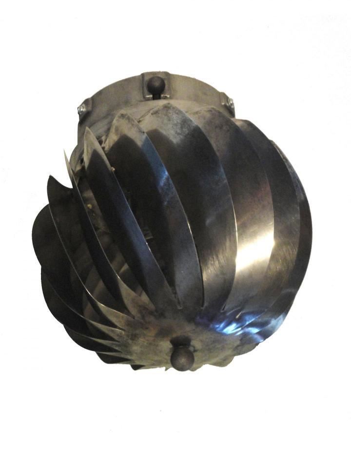 Lustre cheminee rotatif
